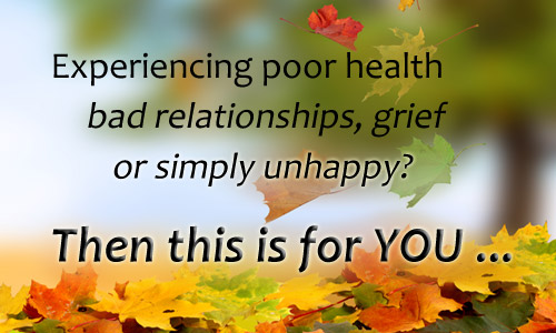 Poor Health, Relationships or Just Unhappy